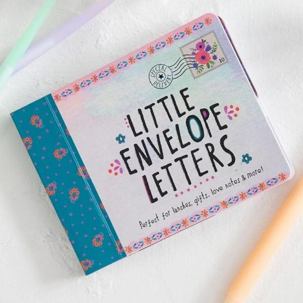 Buch Briefe mit Umschlag Floral