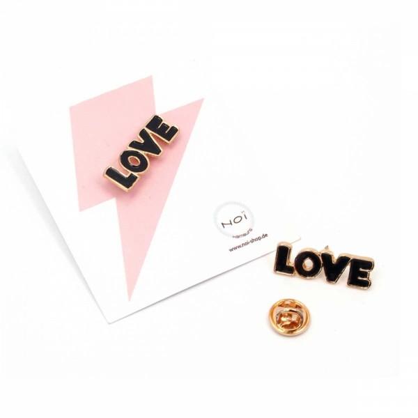 Pin Enamel Words Love