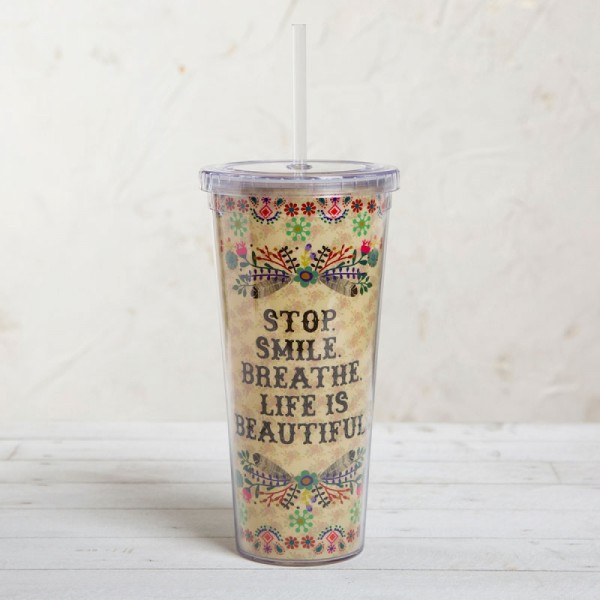 Becher On The Go Stop Smile