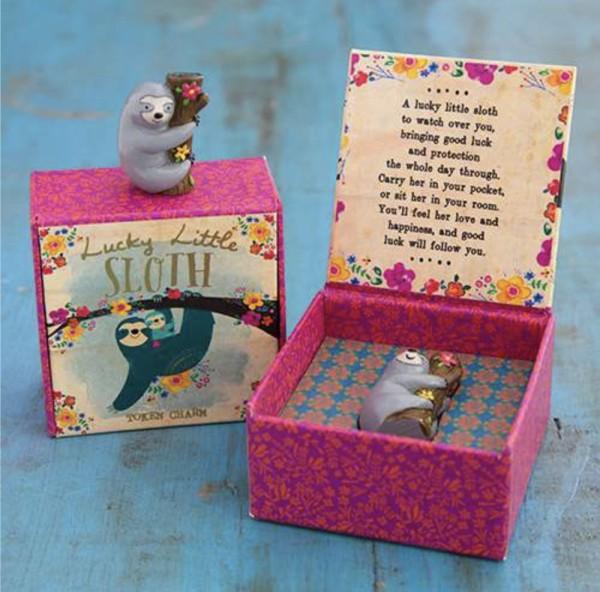 Glücksbringer in a Box Sloth/Waschbär