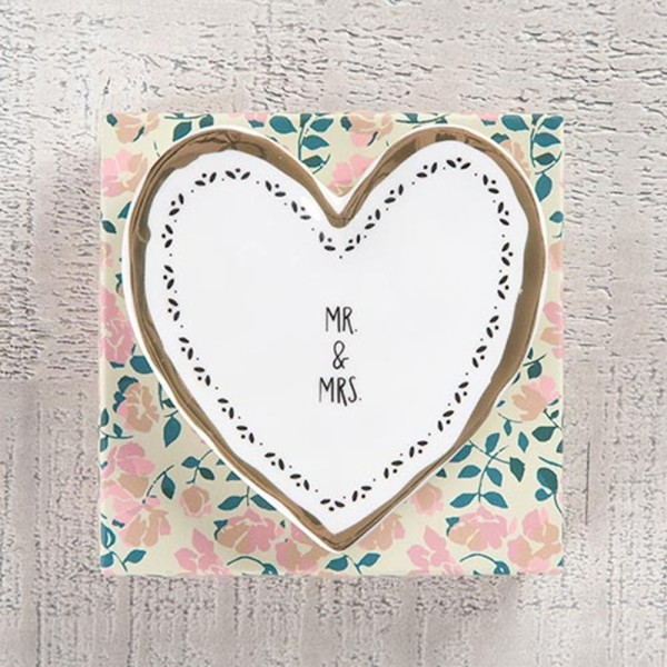 Keramikschale Calypso Mr & Mrs