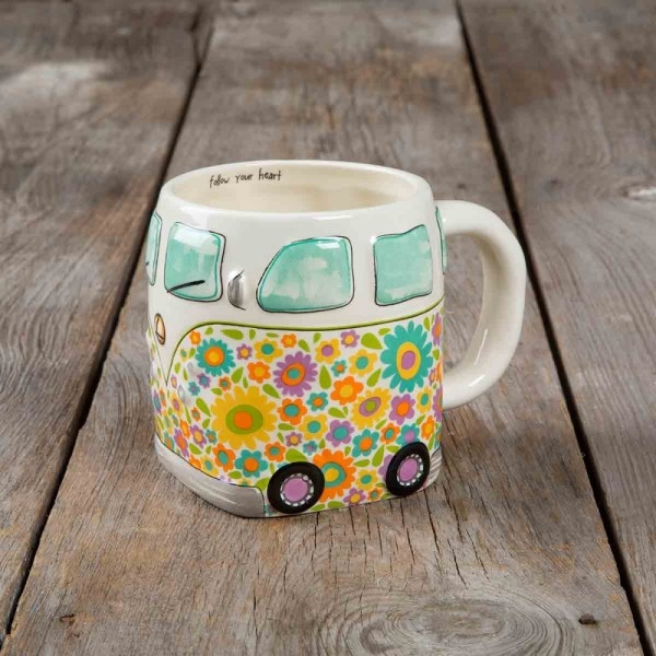 Tasse Folk Art Van