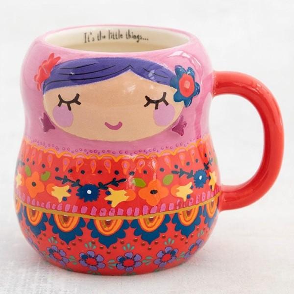 Tasse Folk Nesting Doll