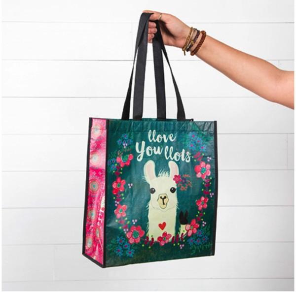 Recycle Tasche L Llove You Llots Llama
