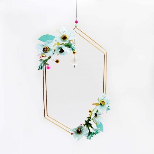 Dekoration Romance Flower Edges