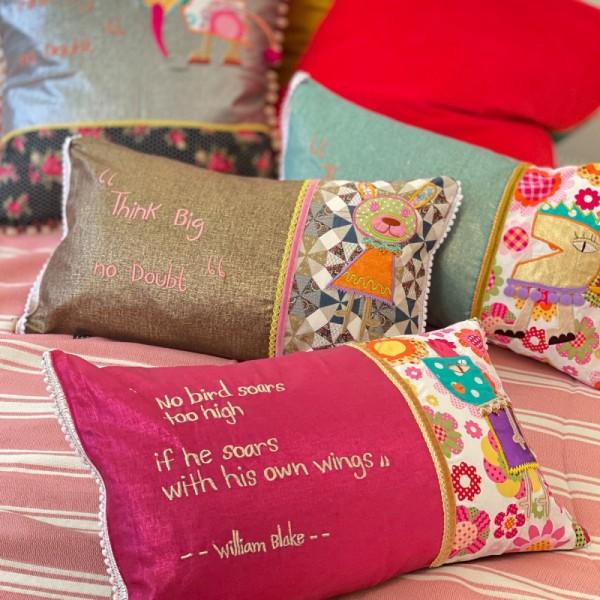Collage Cushion 3