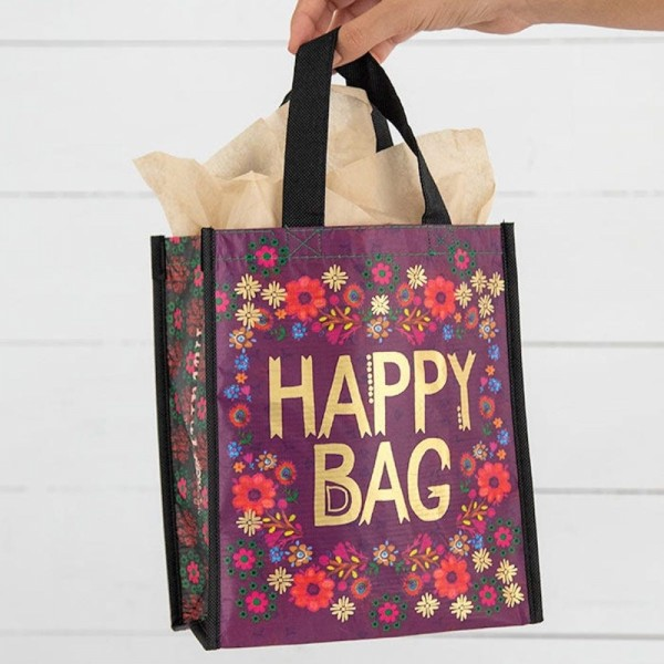 Recycle Tasche M Holiday Happy