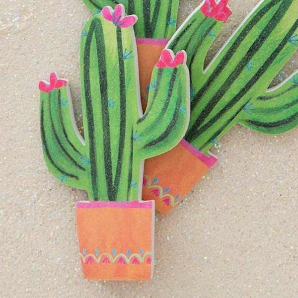 Nagelfeile 3er Set Cactus