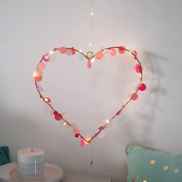 Funkel Heart L LED