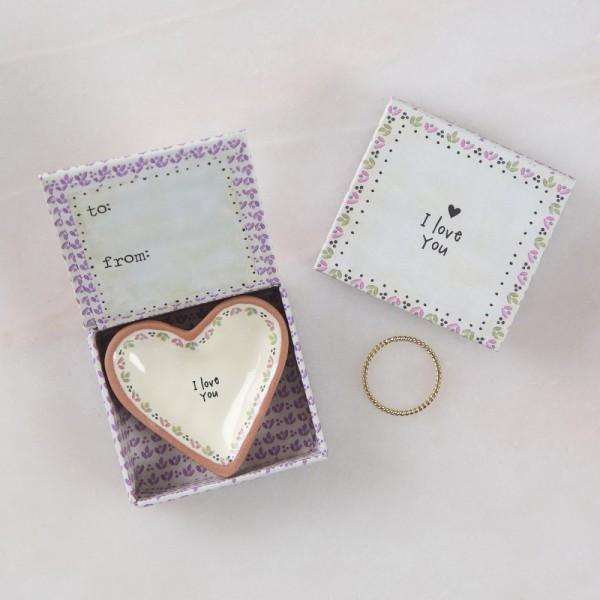Keramikschälchen Tiny Heart I love you