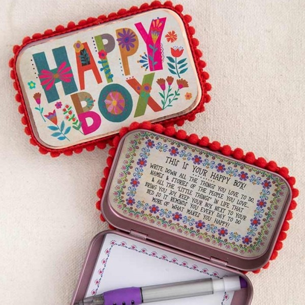 Wunschbox Metal Prayer Happy Color Letter