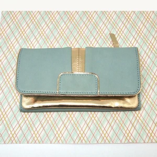 Portemonnaie DD Bling grey L