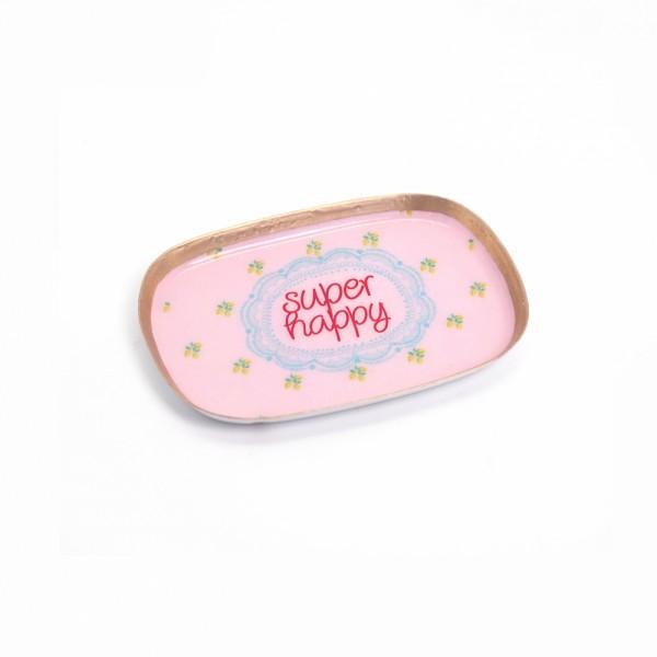 Minischale Yammi Super Happy pink