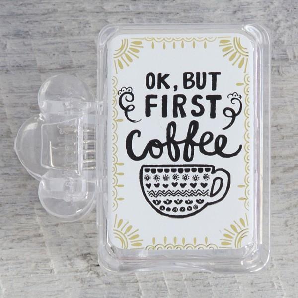 Zahnbürstenschutz Coffee