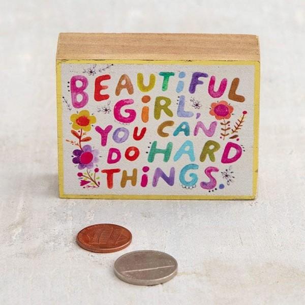 Mini Wandbild Beautiful Girl