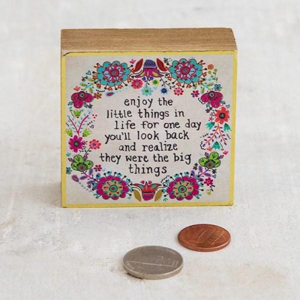 Mini Wandbild Enjoy Little Things