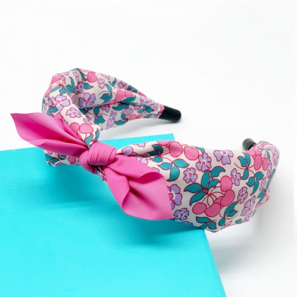 Haarreif Mille Fleur pink