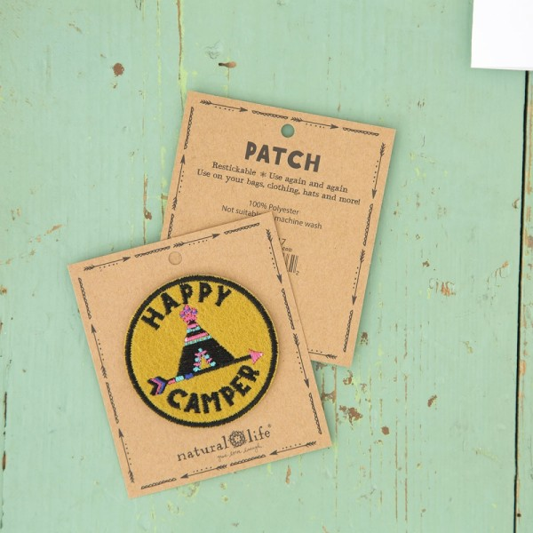Patch Happy Camper TeePee