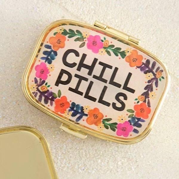 Tablettendöschen Chill Pills Cream