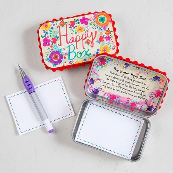Wunschbox Metall PRAYER Happy Box