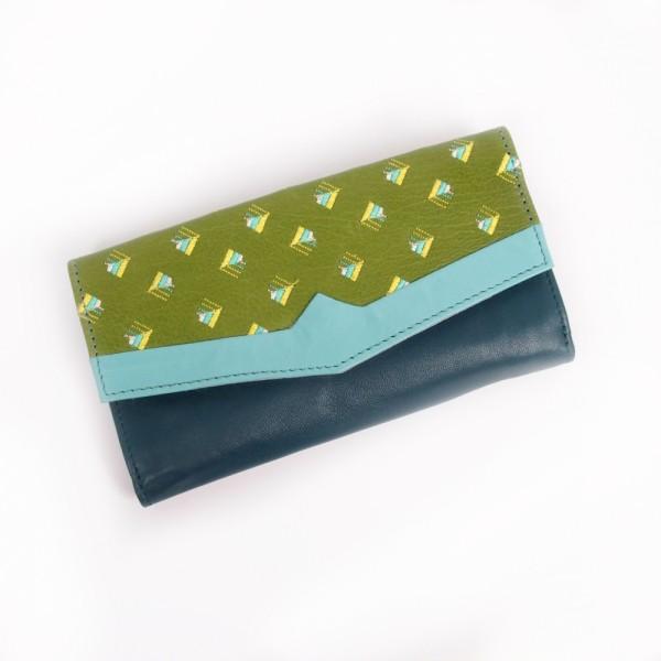 Portemonnaie FUJI V-neck kiwi