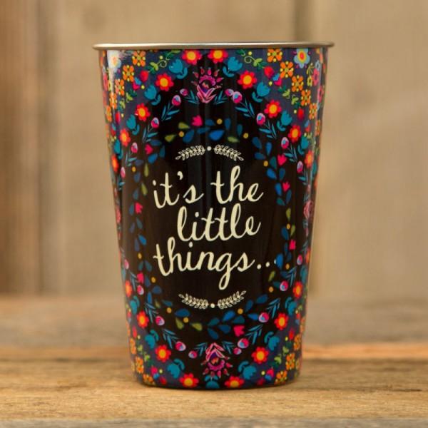 Becher aus Edelstahl Little Things