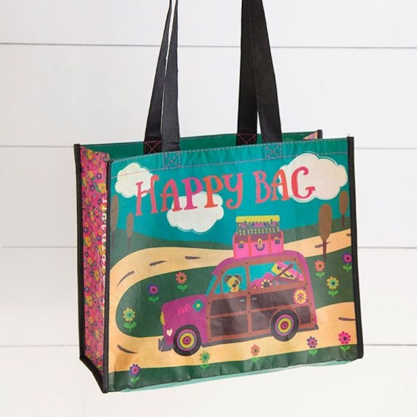 Recycled Bag L Happy Adventure