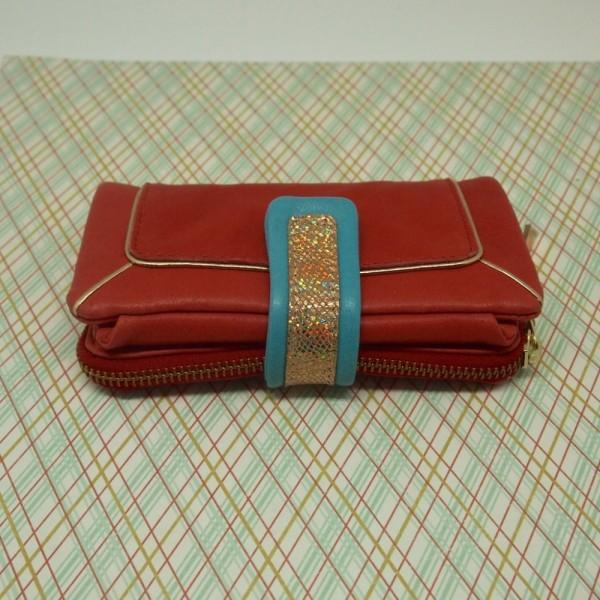 Portemonnaie DD Bling ziegel