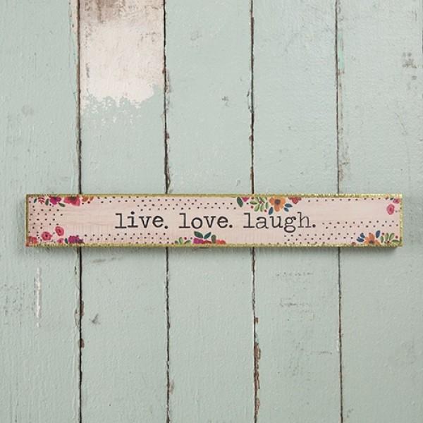 Wandbild Live Love