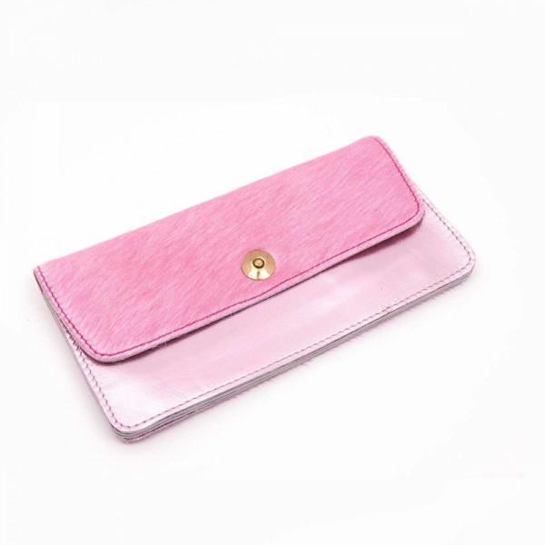 Portemonnaie lg buckle pink