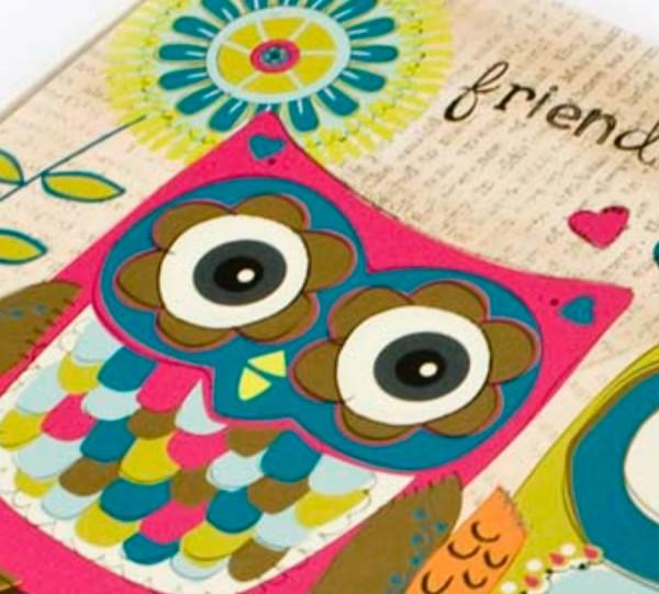 Schatzkästchen, Schachtel FRIENDS OWL