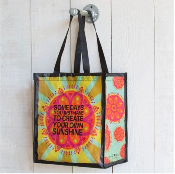 Recycled Bag Sunshine