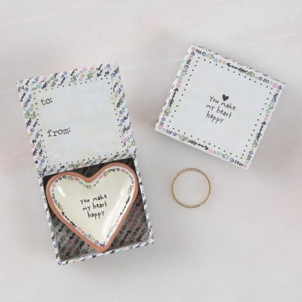 Keramikschälchen Tiny Heart Heart happy