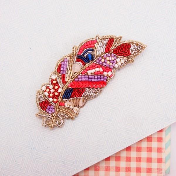Brosche Kassandra Feather