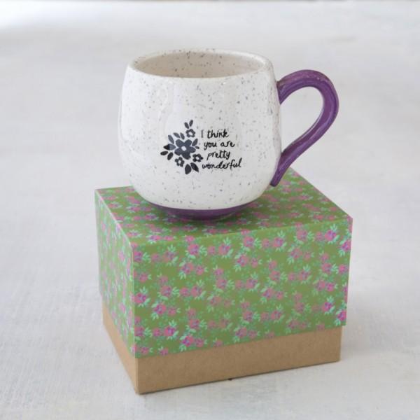 Tasse in Geschenkbox Pretty Wonderful