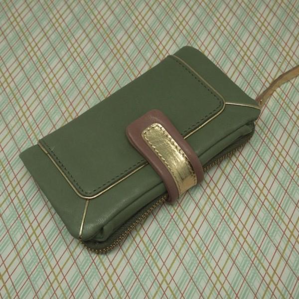 Portemonnaie DD Bling olive
