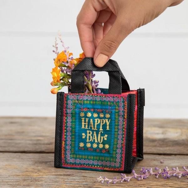 Recycle Tasche Mini Happy Bag Borders