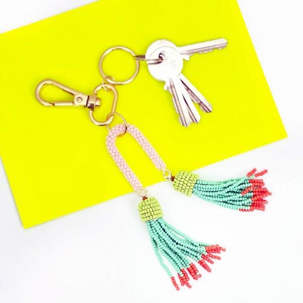 Schlüsselanhänger Bead Tassel 2