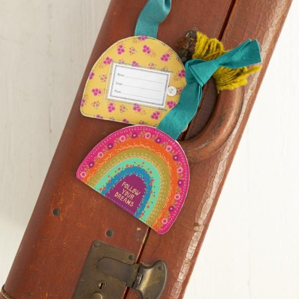 Kofferanhänger Rainbow
