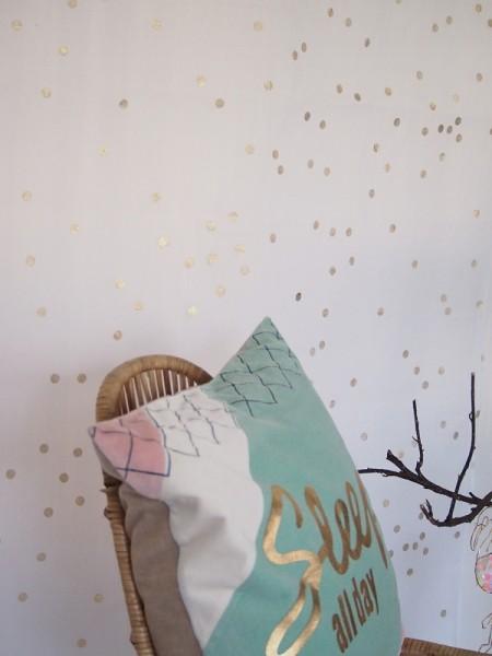 Vorhang Gold Dot