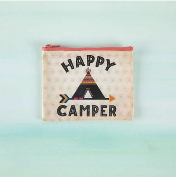 Täschchen Recycled Happy Camper