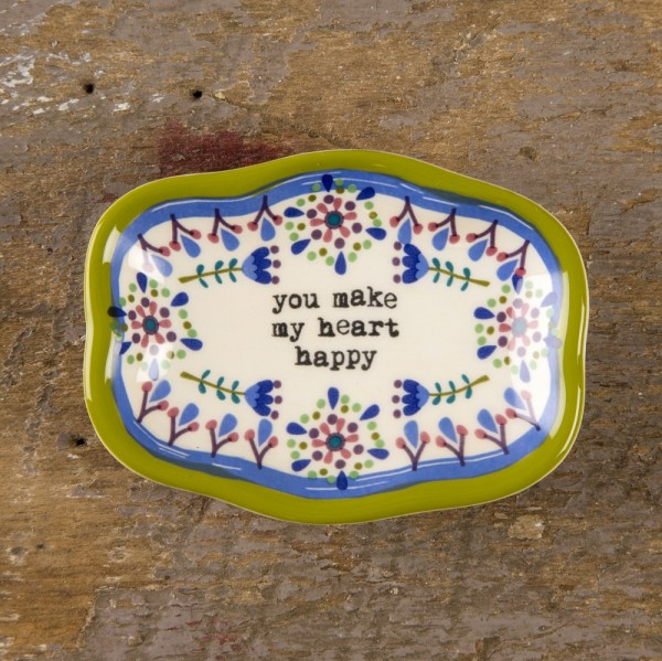 Keramikschälchen S Heart Happy