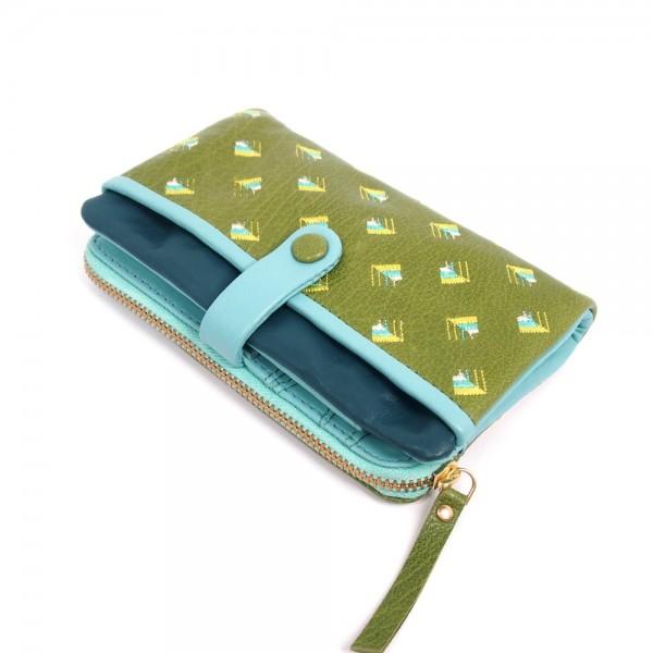 Portemonnaie FUJI folded kiwi