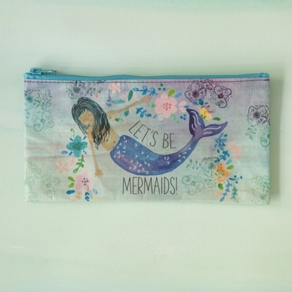 Täschchen Recycled Zip  Pencil Lets B Mermaids