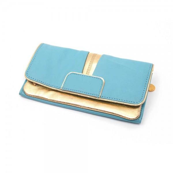 Portemonnaie DD Bling aqua L