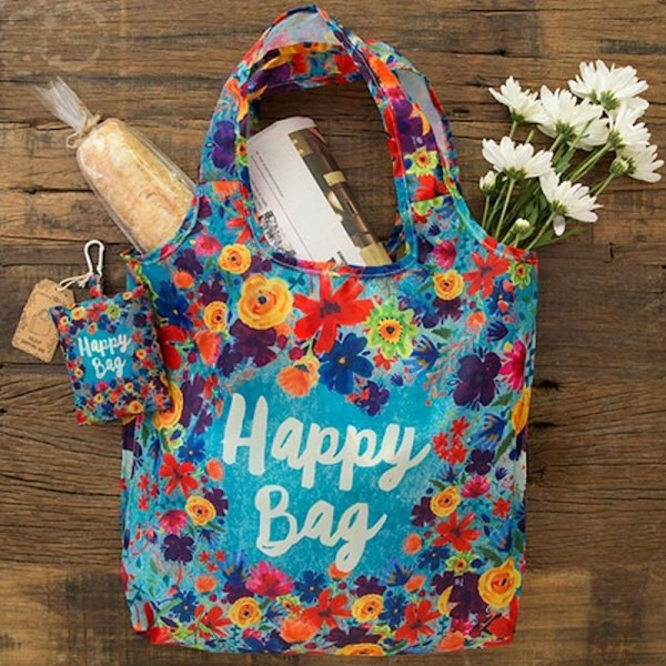 Einkaufstasche Faltbar Happy Bag