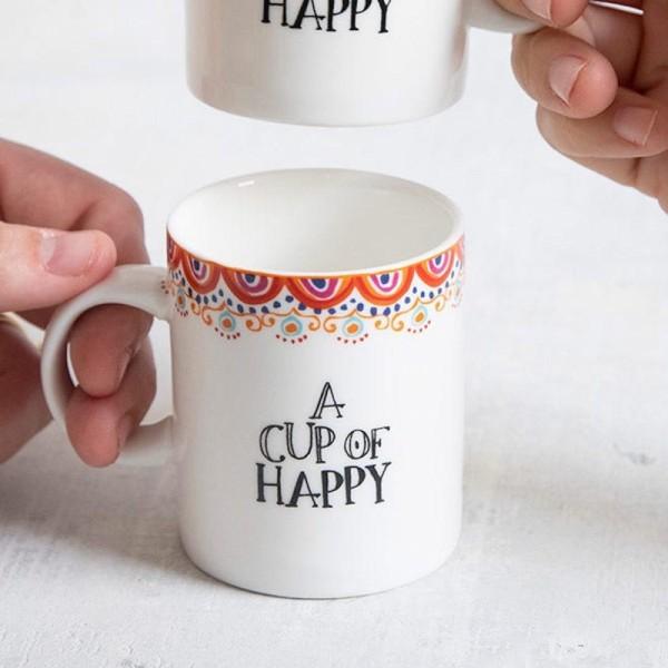 Set of 2 Tassen Espresso of Happy