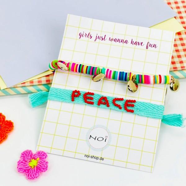 Armband Itsybitsy Peace Set2