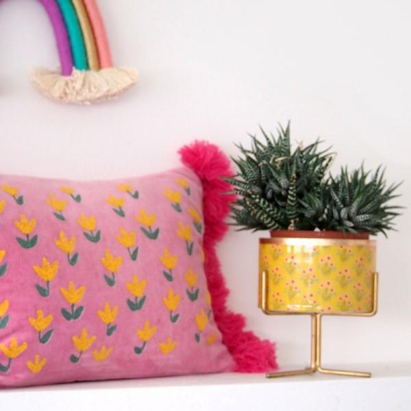 Kissenhülle Orient Tulip
