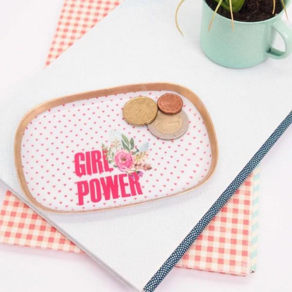 Tablett Girlpower